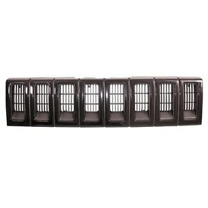 Grille Insert Black For Jeep Grand Cherokee 1993 1995 Zj 12037 13 Omix Ada