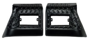 Fender Bug Chip Guards Front Body Armor For Jeep Tj Wrangler 97 06 Rugged Ridge