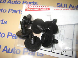 Toyota Tacoma Truck Pickup Rear Mud Flap Mounting Bolts Factory Oem Toyota 6
