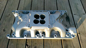 Rare Offenhauser Dual Port Intake Ford 351w Mustang Cougar F250 F350 383 408 427