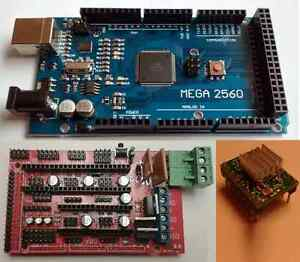 3d Printer Electronics Kit Mega 2560 Ramps 1 4 A4988 Drivers Reprap