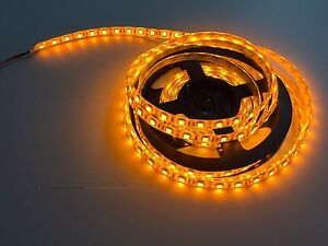 Yellow Waterproof 5050 Smd 300led 5m 60led M Light Strip Lamp Car Flexible 12v