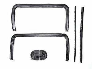 55 56 57 Chevy Hardtop Convertible Nomad Vent Window Seals 1955 1956 1957 New