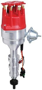 Msd Ignition 8595 Billet Ready To Run Distributor Ford Fe Engines 332 428