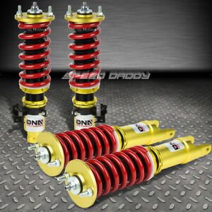 For Civic eg Integra Dc Dna Damper Kit Coilover Red Race hard Lowering Springs