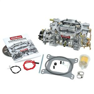 Edelbrock 1406 Performer Series 600 Cfm Electric Choke Carburetor Square Bore