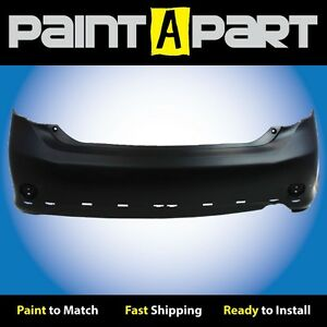 Fits 2009 2010 Toyota Corolla s Xrs Rear Bumper Cover premium Painted