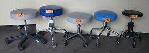 Exam Stool Stools Medical Dental Rolling Adjustable One Stool