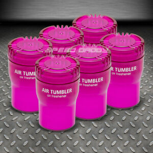 X6 Air Tumbler Angel Snow Scent Car truck home Cup Holder Freshener 5 12 oz