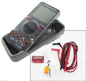 Digital Multimeter Lcd Ac dc Ammeter Resistance Capacitance Automotive Meter