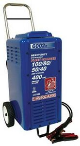 6 12 18 24 Volt Heavy Duty Commercial Charger Aso 6002b Brand New