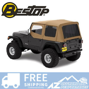 Bestop Replace A Top Half Door Skins Tint Spice For 88 95 Jeep Wrangler Yj