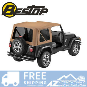 Bestop Replace A Top Clear Windows Spice For 97 02 Jeep Wrangler Tj