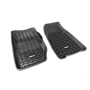 All Terrain Front Floor Liner Mats Liners For Jeep Xj Cherokee Pair Rugged Ridge