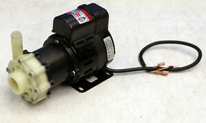 March Mfg Inc Te 5c md Single Phase Magnetic Drive Pump Ac 5c md
