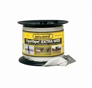 Parker 895 1 1 2 In 200 Ft Extra Wide Heavy Duty Electric Fence Tape White