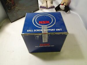 Nsk Ball Screw Support Unit Bearing Wbk35dff 31 New In Box h 4