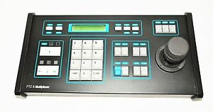 Arm Electronic Sdkbd3 Ptz Multiplexer Keyboard 3axis Joystic 5 lcd Used ssc4