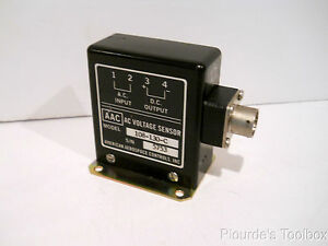 Unused American Aerospace 130v Ac Voltage Current Sensor 108 130 c
