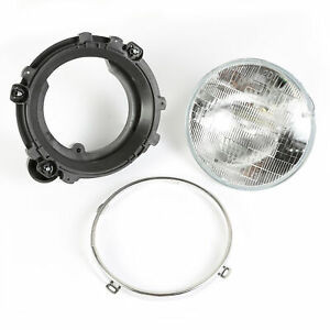 Headlight Assembly With Bulb For Jeep Wrangler Tj 1997 2006 Left 12402 03 Omix