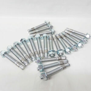 Auto Lift Wedge Anchors 3 4 X 5 1 2 For 2 4 Post Lift Anchor Bolts Box Of 20