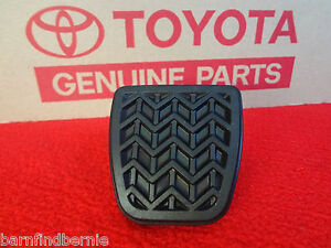 Toyota Brake Or Clutch Pedal Pad Camry Corolla Solara Matrix Manual Trans Oem