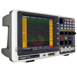 Owon Mso7102t Mixed Logic Analyzer Oscilloscope 100mhz 1gs s 500ms s 7 8 Lcd