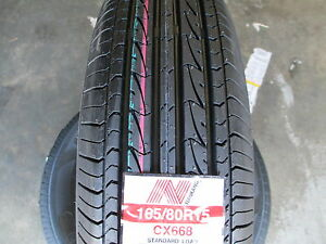 2 New 165 80r15 Inch Nankang Cx668 Tires 1658015 165 80 15 R15 80r