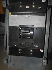 Square D Map36600 3pole 600amp 600v Panel Board Circuit Breaker 1year Warranty