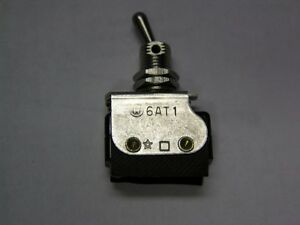 Mil spec Honeywell 6at1 Spdt 1 4 Bushing Panel Mount Toggle Switch Assembly