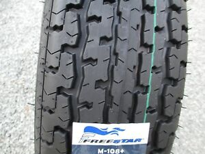 2 New St 205 75r15 Freestar M108 Radial Trailer Tires 8 Ply 2057515 75 15 R15 D