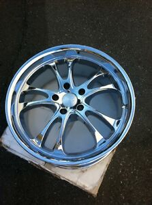 Adr 19 Chrome Wheels Rims Brand New In Box