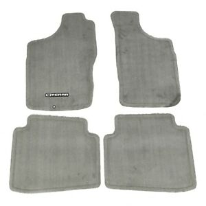 2000 2004 Nissan Xterra Gray Carpeted Floor Mat Front Rear Set Of 4 Oem New