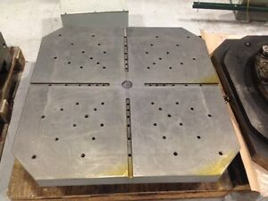 Okk Hm 1000 Or Hm 1000s Horizontal Machining Center Pallet Table 39 3 X 39 3