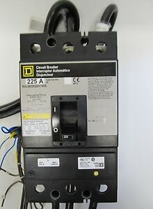 Square D Khl3622522dc1625 Circuit Breaker 3p 600v 225a New No Box