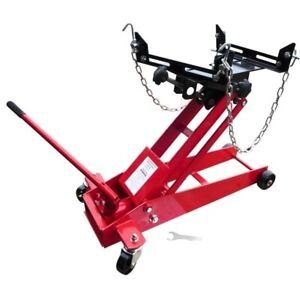 1 2 Ton Transmission Floor Jack Automotive Shop Tool Trans Hoist Jacks Lift