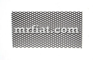 Mercedes 220 S 220 Se Ponton Coupe Stainless Steel 170x190 Mm Radio Grill New