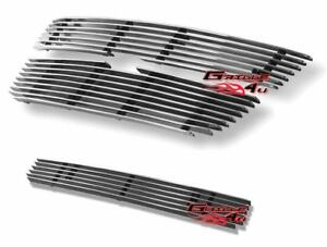 Customized For 04 11 2011 Chevy Colorado Billet Premium Grille Combo Insert