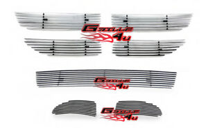 For 2011 2012 Dodge Journey Billet Premium Grille Insert Combo