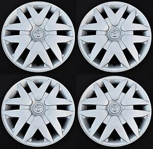 Set 4pcs Hubcap Wheel Covers Fit 16 Toyota Sienna 2004 2010 New Wheelcover