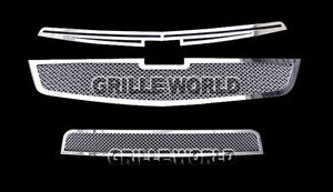 For 2011 2012 Chevy Cruze Stainless Steel Mesh Premium Grille Insert Combo