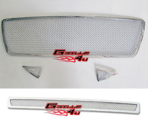 For 2005 2010 Toyota Tacoma Stainless Steel Mesh Premium Grille Combo