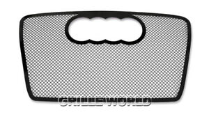 For 2006 2007 Audi A4 Model Black Stainless Steel Mesh Premium Grille