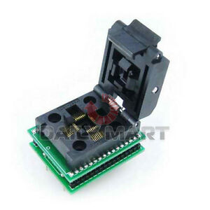 Qfp32 tqfp32 fqfp32 pqfp32 To Dip32 Socket Adapter Test Burn in 0 8mm Pitch