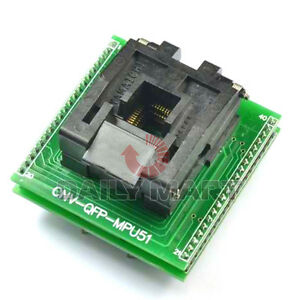 New Flap Plcc44 To Dip40 Programmer Universal Ic Converter Adapter Socket