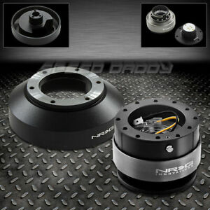 Nrg Steering Wheel Short Hub 2 0 Black Quick Release For 03 16 350z 370z G35 G37