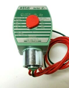 Asco 8262g220 Solenoid And Valve 1 4 2way Ss Volts hz 120 60 110 50