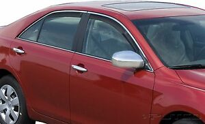 Tinted Window Visors Fits Toyota Camry 2007 2008 2009 2010 2011 set Of 4