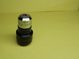 Zeiss Epiplan Microscope Objective Lens 16x 16 0 35