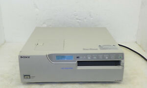 Vintage Sony Up 2900md Color Video Printer 515